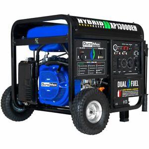 Duromax XP13000EH, 13000 Watt Dual Fuel Electric Start, Portable Generator
