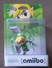 Nintendo Toon Link Zelda Amiibo Super Smash Bros Brothers