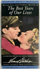The Best Years Of Our Lives 1946 Vhs Myrna Loy Fedric March VhsshopCom