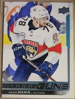 2018-19  UPPER DECK Serie 1, #206 Maxim MAMIN, YOUNG GUNS, Panthers