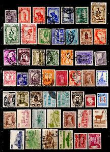 PERU: CLASSIC ERA - 1950'S STAMP COLLECTION