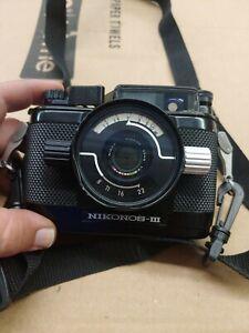 Nikon Nikonos III Underwater Camera W/ UW-Nikkor 35mm f=2.8mm 1:3.5
