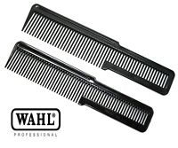 ORIGINAL WAHL STYLE HAIR CUTTING & STYLING FADES BLACK FLAT TOP CLIPPER COMB