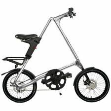 STRIDA SX Silver Brush 18 pulgadas bicicleta plegable citybike