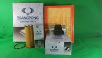 GENUINE SSANGYONG ACTYON SUV 100 SERIES 2.3 L PETROL FILTER PACK( OIL+AIR+FUEL )