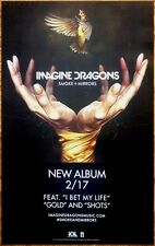 IMAGINE DRAGONS Smoke+Mirrors Ltd Ed RARE Poster +FREE Rock Indie Poster! Evolve
