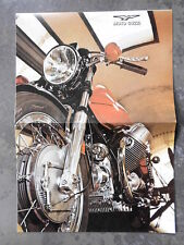 MOTO GUZZI  PROSPEKT 1972 ITALIEN 2-ZYLINDER V 7 750 SPORT MOTORRAD MANDELLO