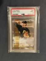 2016 Topps Finest #66 GERRIT COLE Pittsburgh Pirates PSA 9 Mint *POP 1* RARE