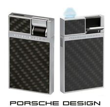 Porsche Design P3632/07 carbon Feuerzeug mit Flat-Flame & einzigartigem Design