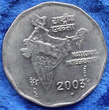 INDIA - 2 Rupees 2003 KM# 121.3 Republic Decimal coinage - Edelweiss Coins
