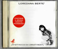 "LOREDANA BERTE' ""UN PETTIROSSO"" CD 11 BRANI SIGILLATO"