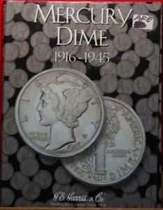 1916-1945 Mercury Dime Book