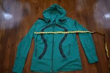 Lululemon Scuba Sweater Hoodie Green Sz XL 12