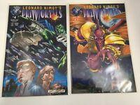 Leonard Nimoy's Primortals # 4 Set of 2 Variant Covers Tekno Comix NM