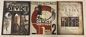 IDW: DEVICE 3 VOLUME BOOK: BUNDLE: NM CONDITION
