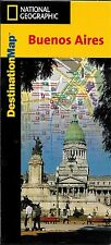 Map of Buenos Aires, Argentina, by National Geographic DestinationMaps