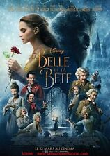 LA BELLE ET LA BETE Affiche Cinéma 160x120 Movie Poster Emma Watson