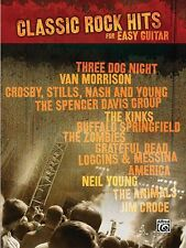 Classic Rock Hits for Easy Guitar Sheet Music Easy Guitar Book NEW 000322006