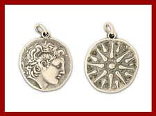 Alexander the Great & Vergina Star ~ Silver Pendant - Large