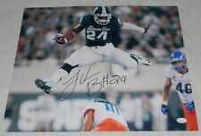 LE'VEON BELL AUTOGRAPHED SIGNED MSU MICHIGAN STATE SPARTANS 16x20 PHOTO JSA