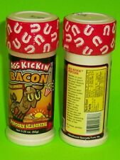 BACON POPCORN SEASONING - GREAT HICKORY SMOKED BACON FLAVOR! - 3.25 OZ. BOTTLE