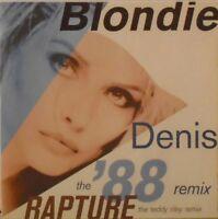 "BLONDIE ~ Denis 88 REMIX ~ 7"" Single PS"