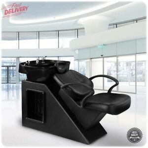 Barber Backwash Salon Spa Chair Shampoo Sink Wash Station Reclining Furniture