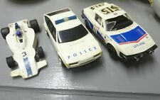 SCALEXTRIC ROVER 3500  POLICE CAR AND TR7 FOR SPARES REPAIRS