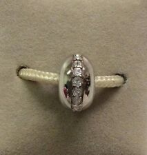 Chamilia Jewelry Crystal Wink Swarovski Crystal Bead Sterling Silver Charm