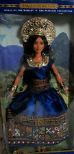 Barbie Collector Mattel Dolls PMH World Inca Pérou NATIVE AMERICAN Boîte d'origine jamais ouverte COLLECTION