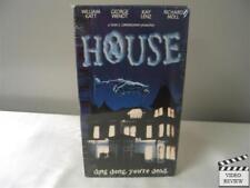House (VHS, 1997) Brand New William Katt George Wendt Kay Lenz Richard Moll