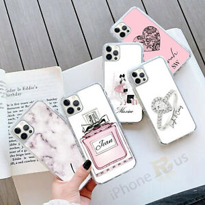 For iPhone 12 11 8 7 MAX XR X XS Personalised GEL Grip Ladies Phone Case 138