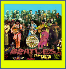 THE BEATLES- SGT. PEPPER  FANTASY 45 PICTURE SLEEVE #1 **COLORED VINYL SERIES**