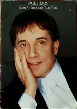 More details for paul simon born at the right time tour 1991 full colour glossy tour programme