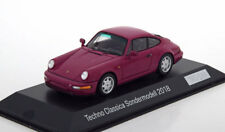 1:43 Spark Porsche 911 (964) 30 years 964 Techno Classica 2018 purple