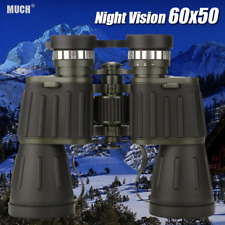 60x50 Night Vision Military Army Zoom Powerful Binoculars Optics Hunting Camping