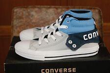 Youth Converse Chuck Taylor Strap PC2 Mid Black Gray Blue 8C 1 2 3