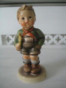"""Vintage 4 1/2"""" Hummel Mould 97 'Trumpet Boy' Musician"""