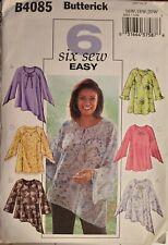 Butterick 6 sew easy pattern B4085 Women's/Petite Top size 16W, 18W, 20W uncut