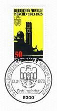 BRD 1978: Deutsches Museum München Nr. 963 mit Bonner Ersttagsstempel! 1A! 155
