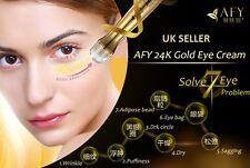 24K Gold Eye Roller Collagen Serum Wand Eliminates Dark Circles & Anti Aging