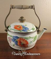 Villeroy & Boch Amapola ASTA Enamel Tea Hot Water Kettle