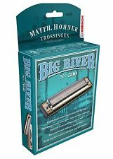"HOHNER BIG RIVER 590 HARMONICA ""B"" HARP BRAND NEW IN CASE SALE"