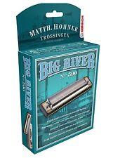 "HOHNER BIG RIVER 590 HARMONICA ""C"" HARP BRAND NEW IN CASE SALE"