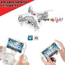 Mini dron con Cámara Cheerson Cx-10wd-tx Cuadricóptero control remoto drone
