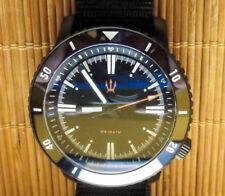 Maratac SR-35 Black PVC Automatic Diver Watch 20mm - 50 pc limited edition NEW