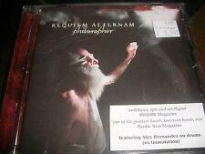 REQUIEM AETERNAM - Philosopher - NEW CD - ex Immolation drummer - death