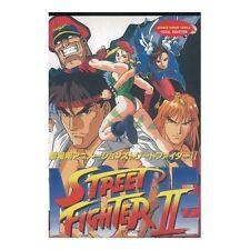 Street Fighter II the Movice Animation Visual Manga Japanese
