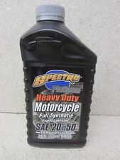 SPECTRO PLATINUM HEAVY DUTY FULL SYNTHETIC V-TWIN 20W50 MOTOR ENGINE OIL