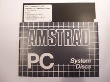 Vintage Original Amstrad PC System Disc - Disc 4 GEM PAINT v2.0U